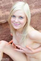 teen girl posing